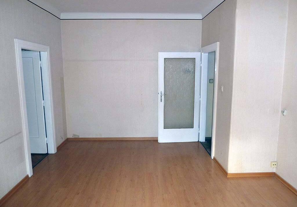 Wohnungungsraeumung Wien Wohnzimmer leer